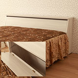 【LOHA】品味生活5尺雙人床頭箱(共四色)