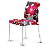 【椅吧】 義式浪漫設計花紋餐椅