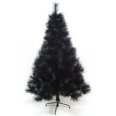 台灣製5尺/5呎(150cm)特級黑色松針葉聖誕樹裸樹(不含飾品)(不含燈)
