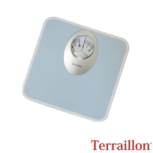 【法國 Terraillon】居家&浴室指針式體重計-藍
