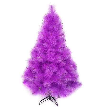 台灣製5尺/5呎(150cm)特級紫色松針葉聖誕樹裸樹(不含飾品)(不含燈)