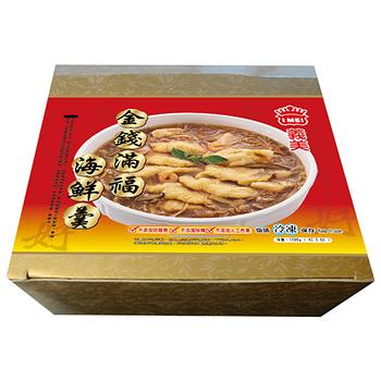 義美金錢滿福海鮮羹1200g+-5%/盒(年菜)
