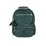 【Kipling】比利時品牌 BASIC系列 限量花色款 機器人造型多口袋後背包 仙人掌綠K-374-3636-450