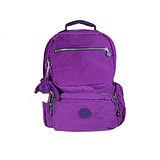 【Kipling】比利時品牌 BASIC系列 限量花色款 機器人造型多口袋後背包 奢華紫K-374-3536-644