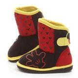 童鞋城堡-Disney迪士尼中童帥氣米奇中筒靴444602-黑