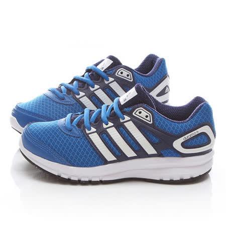 Adidas 中大童 輕量慢跑運動鞋 B32721-藍