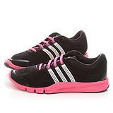 Adidas 女款Adipure 360.2W 多功能運動鞋 M18121-黑粉