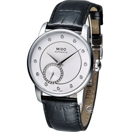 MIDO Baroncelli II 永恆優雅機械錶腕錶 M0072281603600