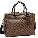 Louis Vuitton LV N23252 ICAR 棋盤格紋手提斜背公事包 預購