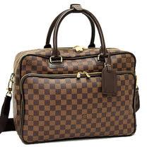 Louis Vuitton LV N23252 ICAR 棋盤格紋手提斜背公事包_預購