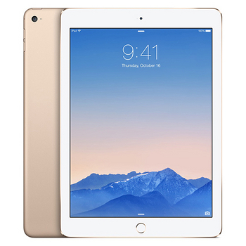 Apple iPad Air 2 Wi-Fi 64GB 平板電腦(金色)-【送平板專用皮套+螢幕保護貼+輕巧觸控筆+平板立架】