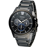SEIKO 精工 60周年紀念款計時腕錶 V175-0CT0SD SSC291J1