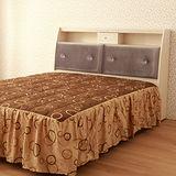 【LOHA】幸褔家居5尺雙人床頭箱(共四色)