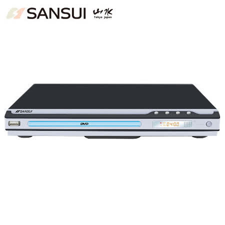 年終盛典 SANSUI山水USB/MPEG4/DVD影音光碟播放機(DVD-258)