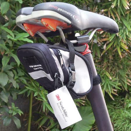 【3M反光滾邊】自行車座管袋/座管包/座墊包《台灣製》