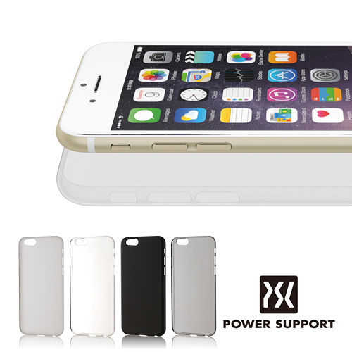 POWER SUPPORT iPhone6 Air jacket 保護殼(附亮面螢幕保護貼)