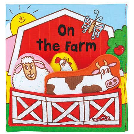 《Read & Play 布書》On the Farm有趣的立體農場