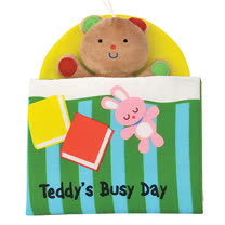 《Read & Play 布書》Teddy's Busy Day泰迪的一天