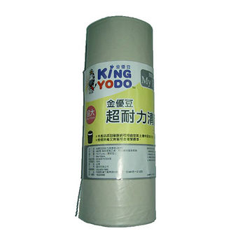 金優豆超耐力清潔垃圾袋半透明(超大)