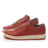 K-SWISS 男款 真皮質感休閒鞋02459-627-咖紅