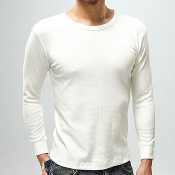 法國名牌美國棉長袖圓領衫厚棉 (M~XL)