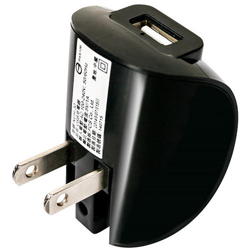 NAKAY國際電壓折疊插頭USB 充電器(NUH-30)