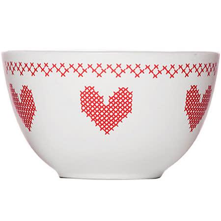 《SAGAFORM》織心餐碗(紅)