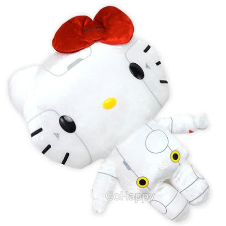 日本限定SANRIO【Robot Kitty】絨毛玩偶