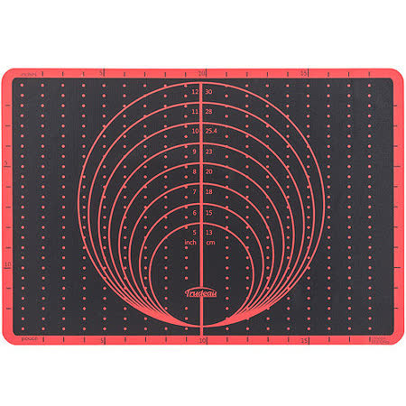 《TRUDEAU》測量矽膠烤墊(33x49.5)