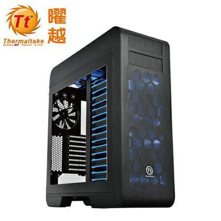 曜越 Core V71 黑色 透側 電腦機殼