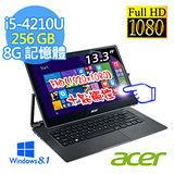 Acer R7-371T-57R4 13.3吋 I5-4210U FHD IPS 可翻轉輕薄觸控筆電