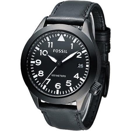 【真心勸敗】gohappy 購物網FOSSIL 暗黑勇士時尚大錶徑腕錶-黑(AM4515)好用嗎海外 刷卡 優惠