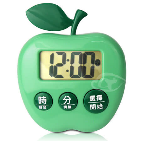 【CATIGA】歡樂果漾-大字幕電子計時器-青蘋綠