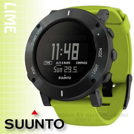 【芬蘭 SUUNTO】公司貨 最新款 New Core Lime Crush 核心心動系列 運動登山錶/氣象錶.自助旅行錶.釣魚錶_萊姆綠 SS020693000