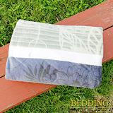 【BEDDING】 包邊款式 法蘭絨增溫保暖萬用毛毯 典雅花園