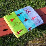 【BEDDING】 包邊款式 法蘭絨增溫保暖萬用毛毯 芭蕾舞者