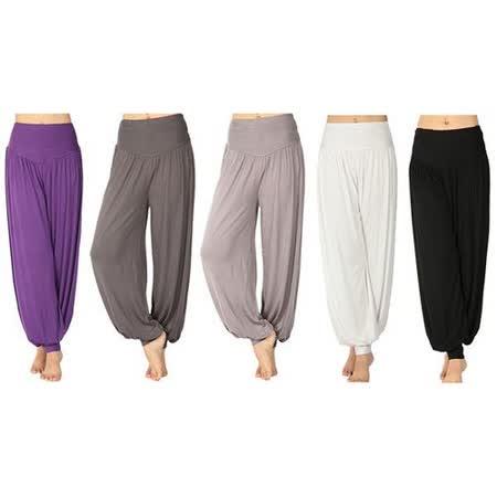 【PS Mall】瑜珈燈籠褲★1元加購瑜珈拉力帶 (H267)