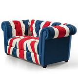 【幸福屋】特羅森6尺英國旗沙發