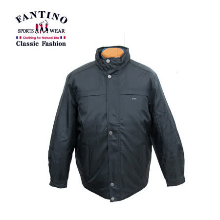 【FANTINO】兩件式風衣外套‧內附可拆式背心 245107