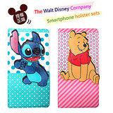 迪士尼授權正版 Disney 三星 SAMSUNG GALAXY NOTE 3 / N9000 磁力立體手機皮套(史迪奇/維尼款)