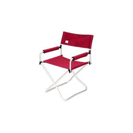 日本 Snow Peak 折疊椅-寬版_紅 LV-070RD