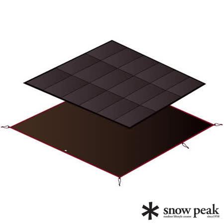 日本 Snow Peak 公司貨 Amenity Dome Mat/Sheet Set/AD帳蓬內泡棉墊地布組(睡墊 + 地布)_SET-021