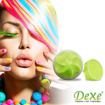 DEXE 繽紛染色糖果球 螢光綠