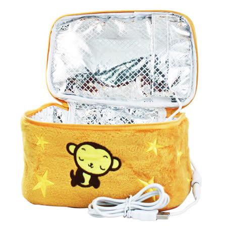USB小猴保溫便當袋 保暖便當盒