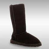 Bee Hugs 100%澳洲羊皮羊毛 加強全身比例手工縫製高筒雪靴~ 經典黑