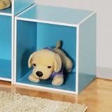 創意收納櫃-粉藍