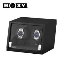 【BOXY手錶上鍊盒】【大錶專用】【緩降玻璃門】城堡系列 15種模式 微動感應LED燈 機械錶專用