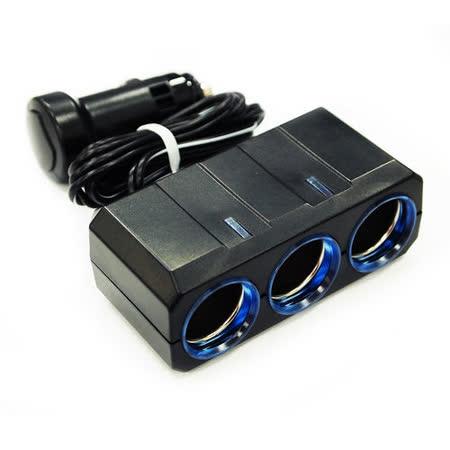【YAC】冷光移動式三孔插座(PZ-364/車充/充電/擴充/轉換器)