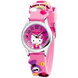 Hello Kitty 美味時光俏麗腕錶-粉紅