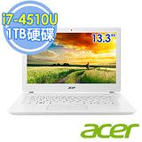 Acer V3-371-717F 13.3吋 I7-4510U 8GB 1TB WIN8.1新款輕薄白色機種
